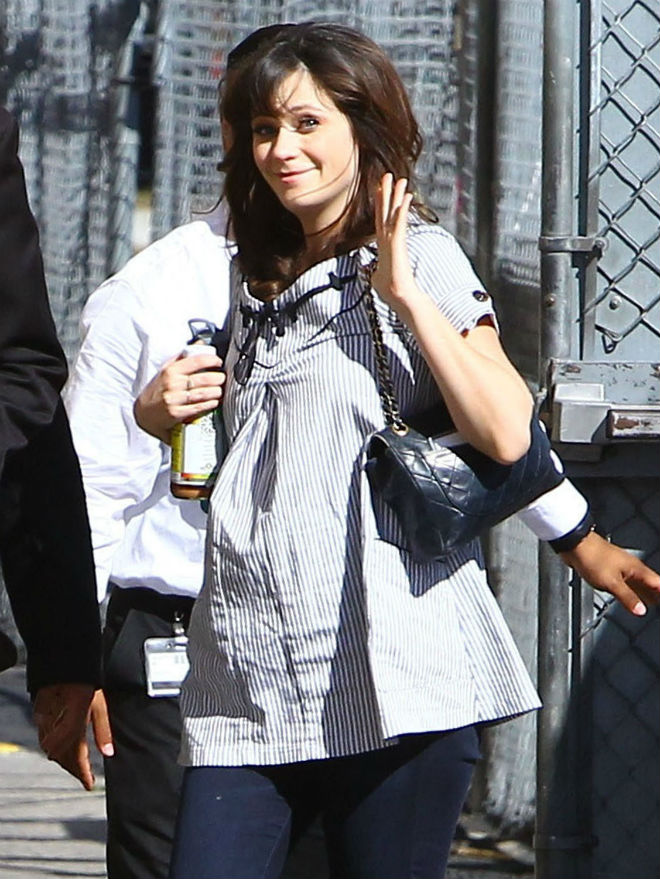 Zooey Deschanel pregnancy diet? So done! - Today's Parent