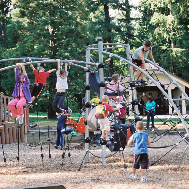 Photo: Queen's Park Courtesy of New Westminster Parks, Culture and Recreation