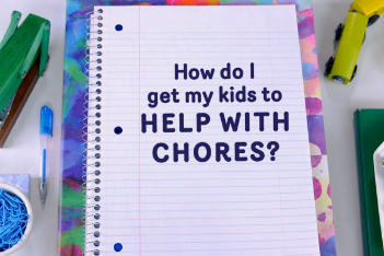 How to get your kids to help with chores