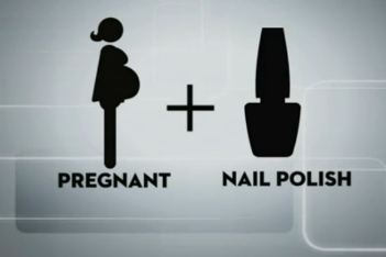 Are hair dye and nail polish safe to use during pregnancy ...