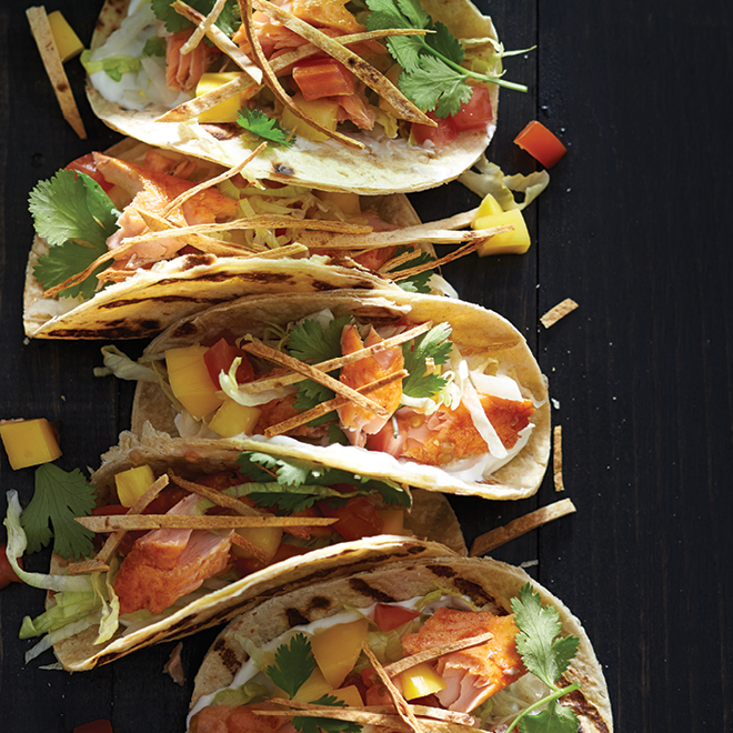 Mini Grilled Fish Tacos