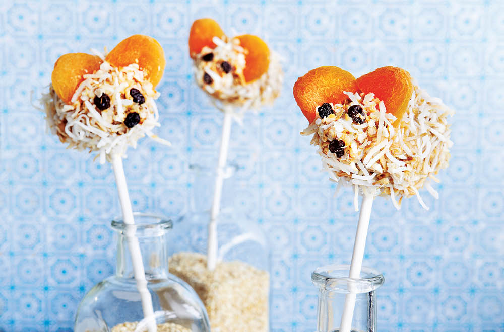 Banana Mouse Pops