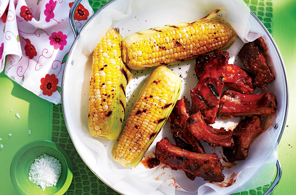 Best-Ever Ribs and Corn