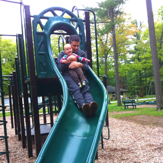 dangers of sliding with toddlers