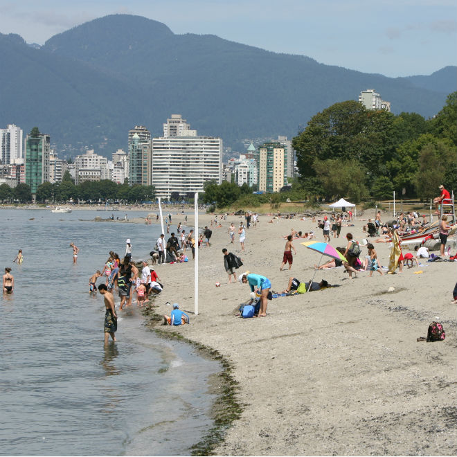 Kitsilano Beach. Photo: Vancouver Park Board