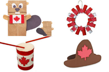 canada day crafts thumb