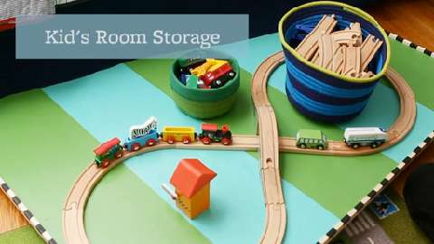 6 storage ideas for kids' rooms