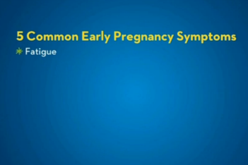5 most common pregnancy signs