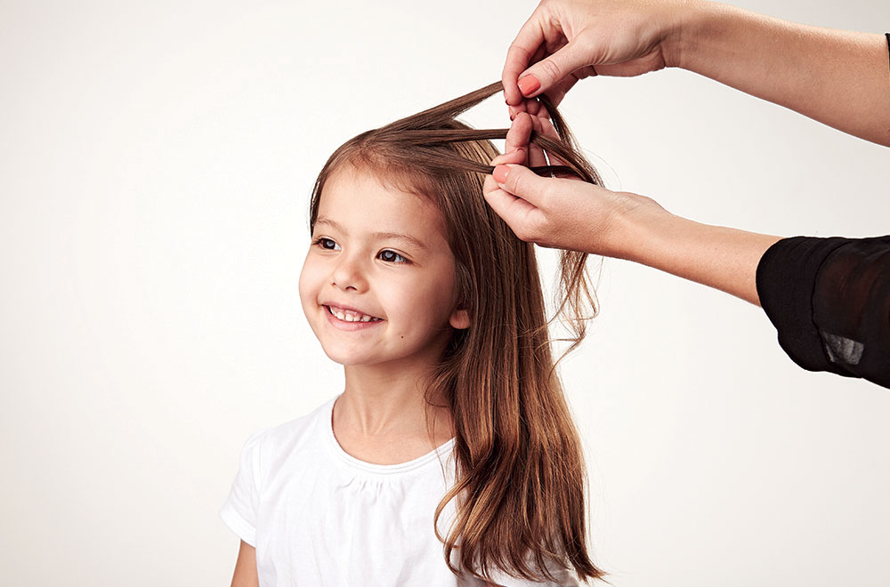 Kids Hair How To Do A Waterfall Braid Today S Parent