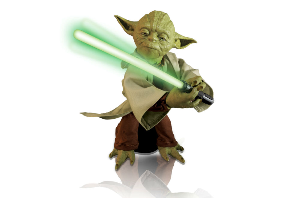 LEGENDARY YODA, 16-INCH FIGURE