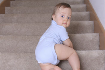 When your baby starts climbing
