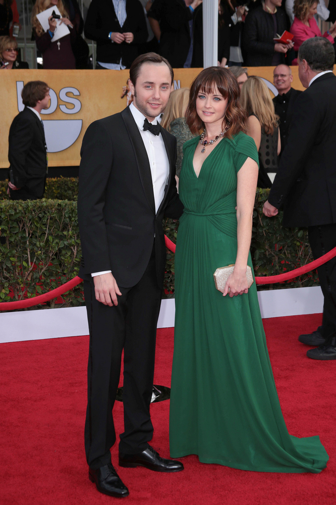 Alexis Bledel welcomes a baby boy