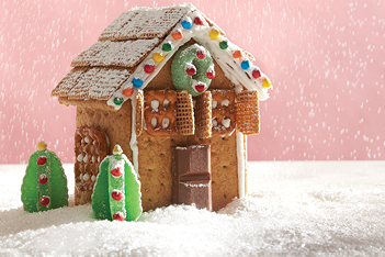 "Mini ""Gingerbread"" House"