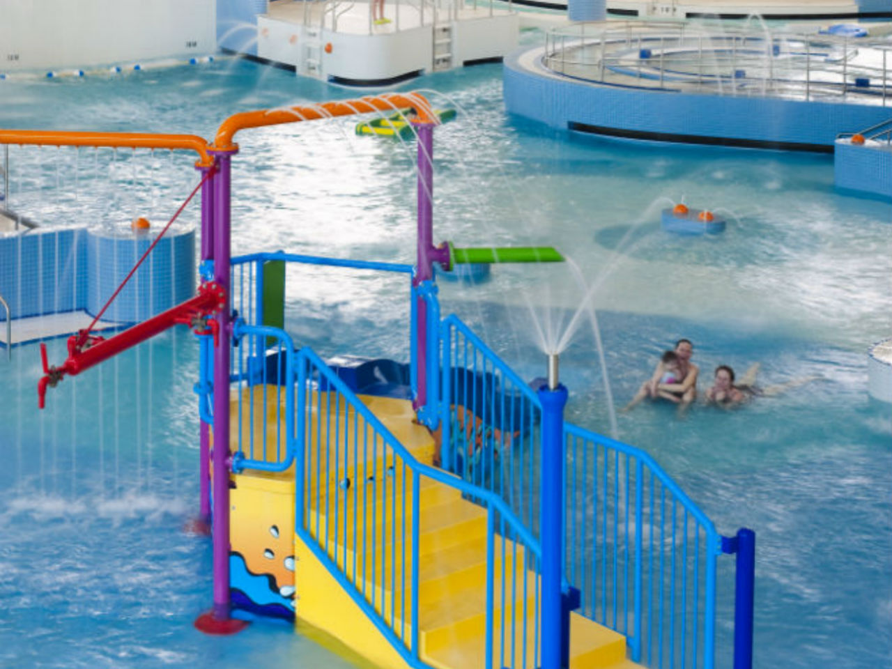 Indoor pool with waterslide  The best indoor water parks in Canada for your family