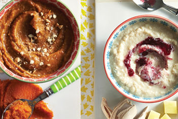 3 delicious baby food purées from your holiday dinner
