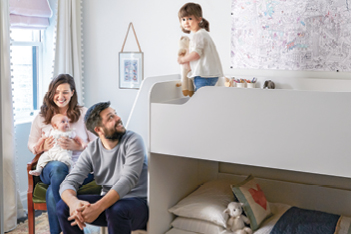 How to design a sweet multi-functional toddler room