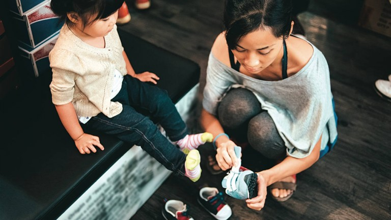 Choosing the right toddler shoes
