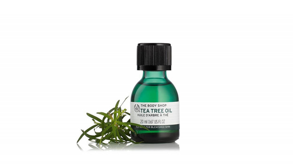 Bottle of tea tree oil
