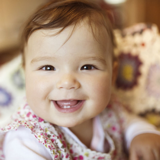 When do babies smile? - Today's Parent Newborn Babies Smiling