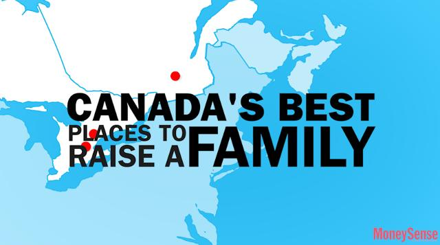 3 best places to raise a family in Canada