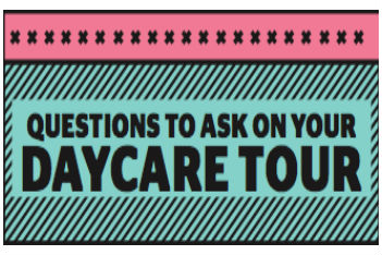 15 questions to ask on your daycare tour (printable)