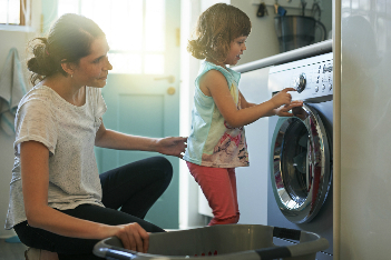 Tips to keep kids safe in the laundry room