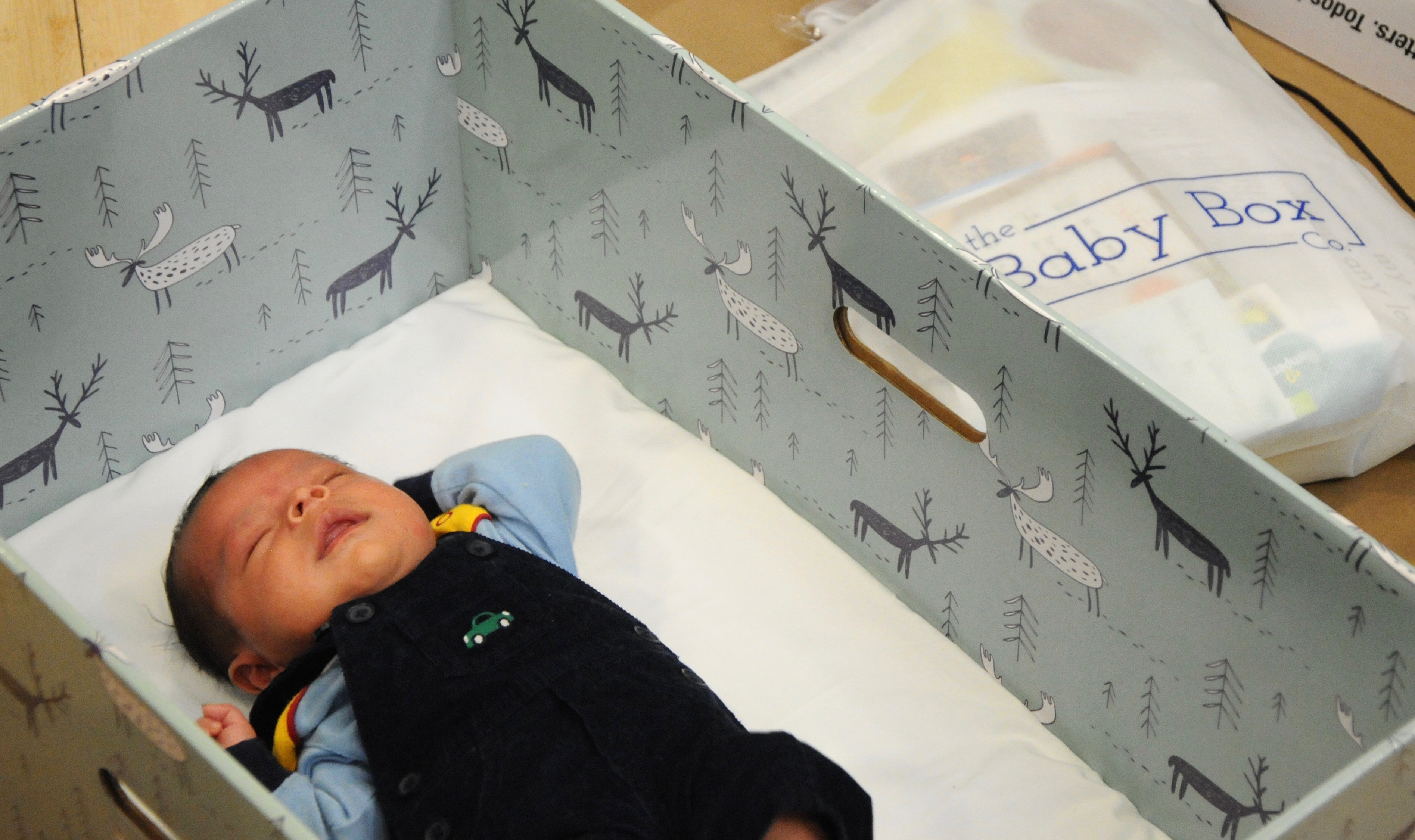 Have You Signed Up For A Free Baby Box