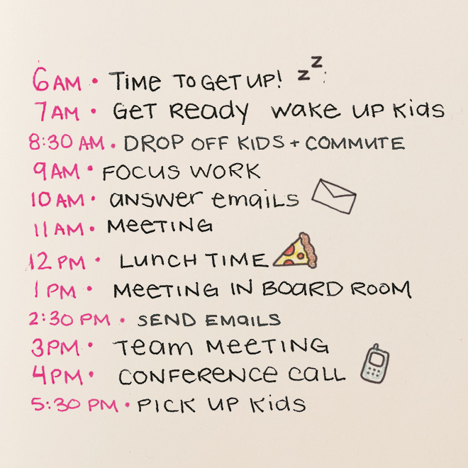 How to get your family organized and on a schedule—in three steps