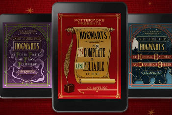 J.K. Rowling to release three more Harry Potter books
