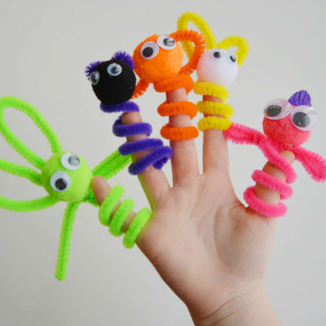 10 easy pipe cleaner crafts