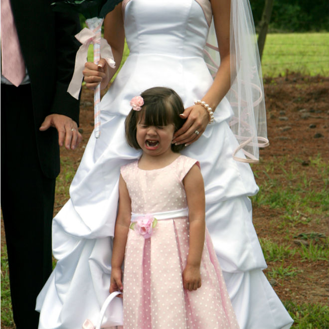 Why child-free weddings are totally insulting