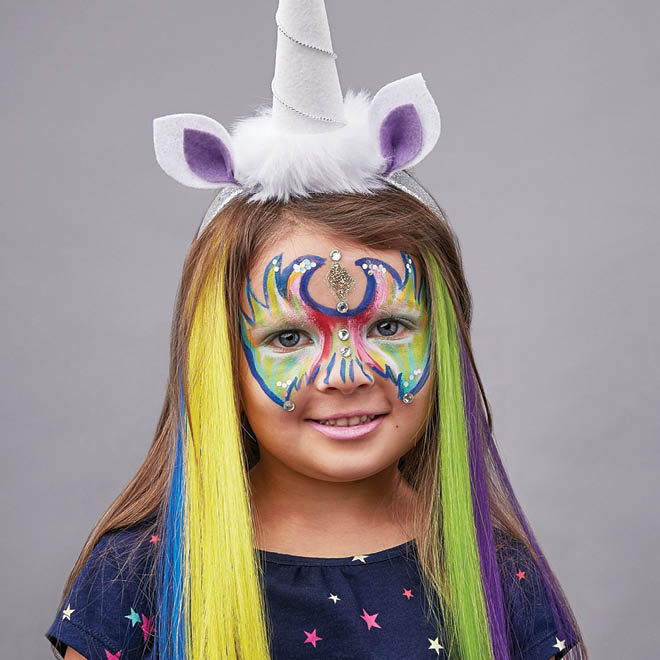 12 easy Halloween face painting tutorials  Todays Parent - Easy Halloween Faces