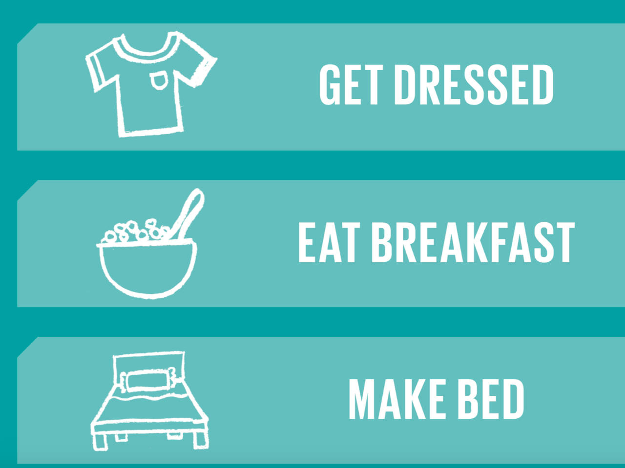 photo relating to Morning Routine Printable referred to as Practical printable early morning program listing