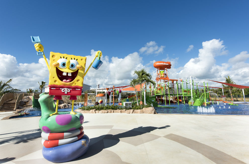 spongebob water park