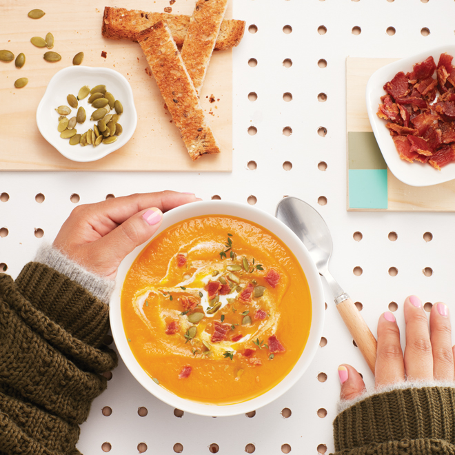 Maple Carrot Soup