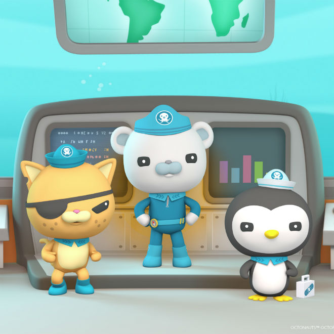 Octonauts, Photo: Courtesy of Corus Entertainment