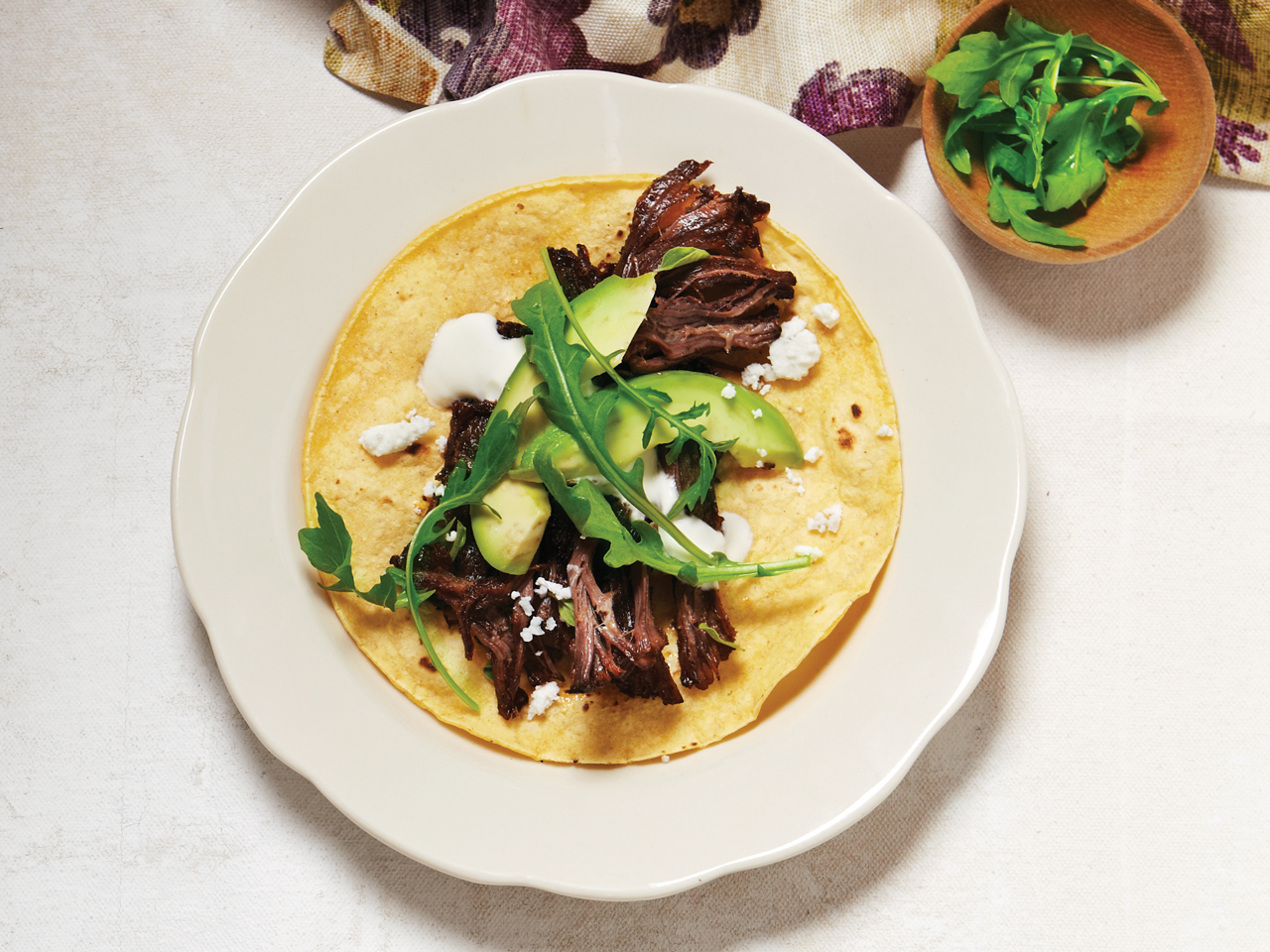 Braised Beef Tacos