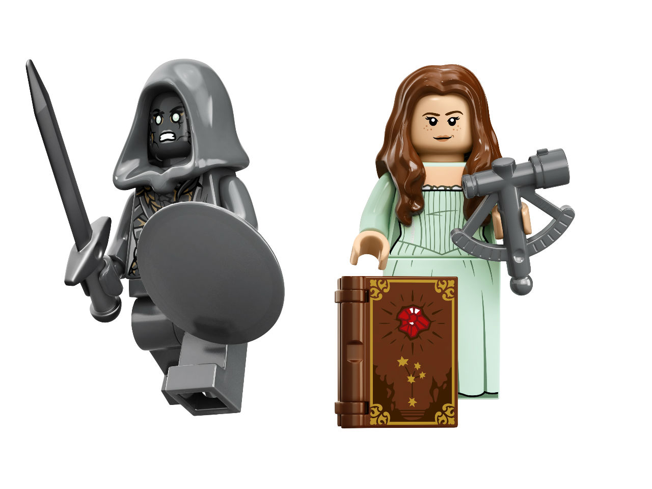 Lego Pirates of the Caribbean Silent Mary set minifigures with accessories