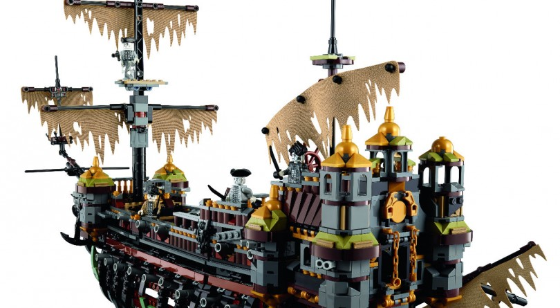 The new Lego Pirates of the Caribbean Silent Mary ghost pirate ship