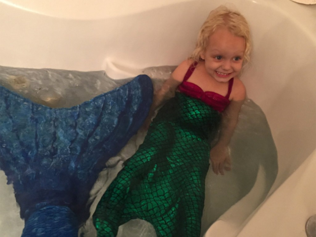 Best Babysitter Ever Dresses Up Like A Mermaid To Surprise Three Year Old