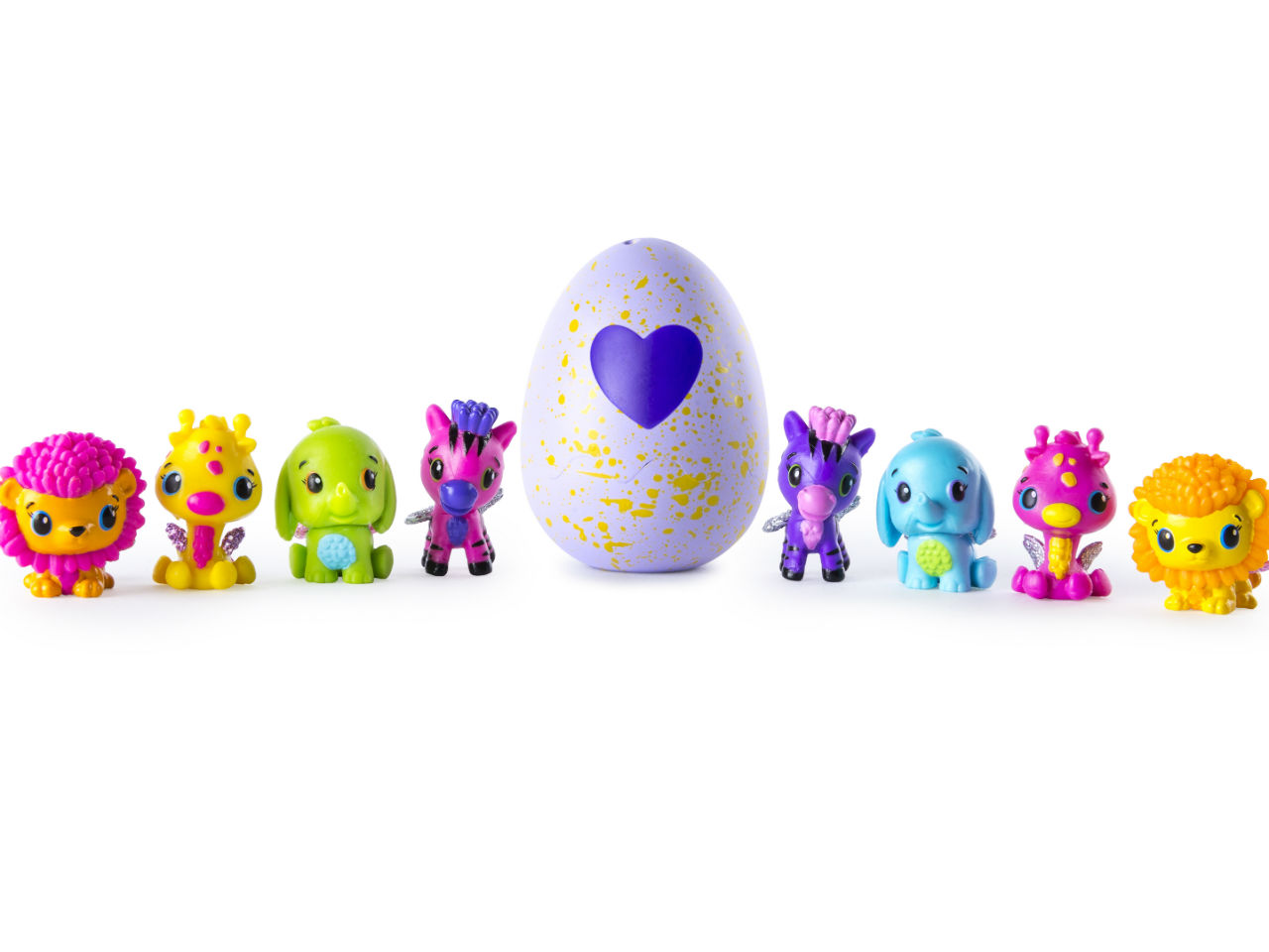 They're back! Check out the new Hatchimals CollEGGtibles here