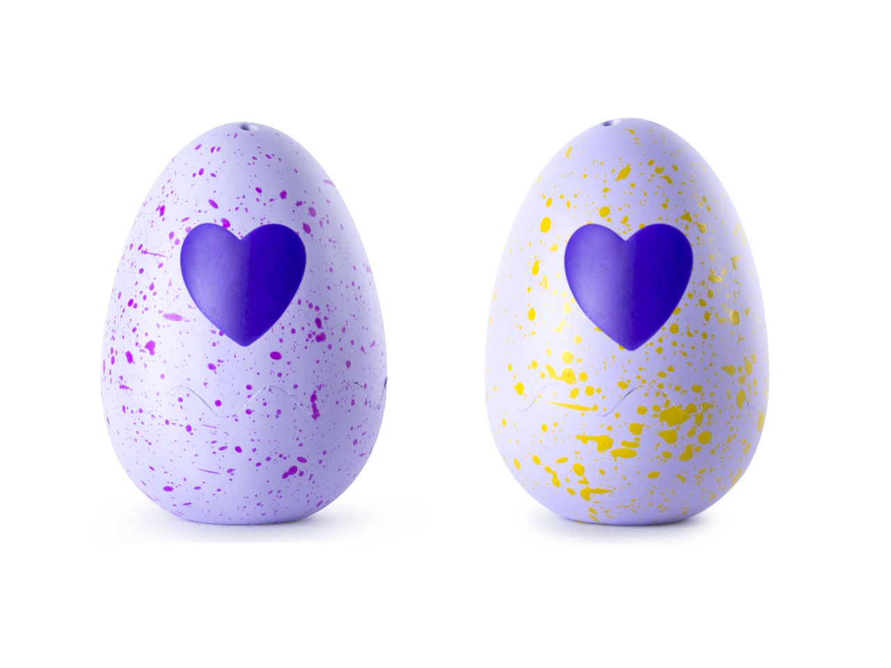 Hatchimals CollEGGtibles two eggs unhatched