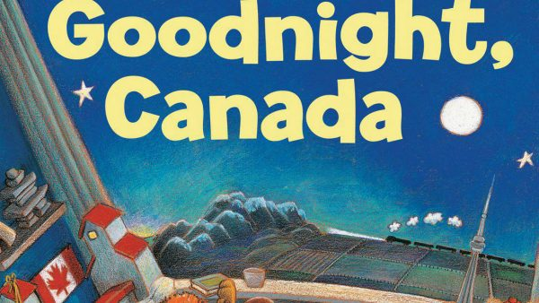 The front cover of Goodnight, Canada