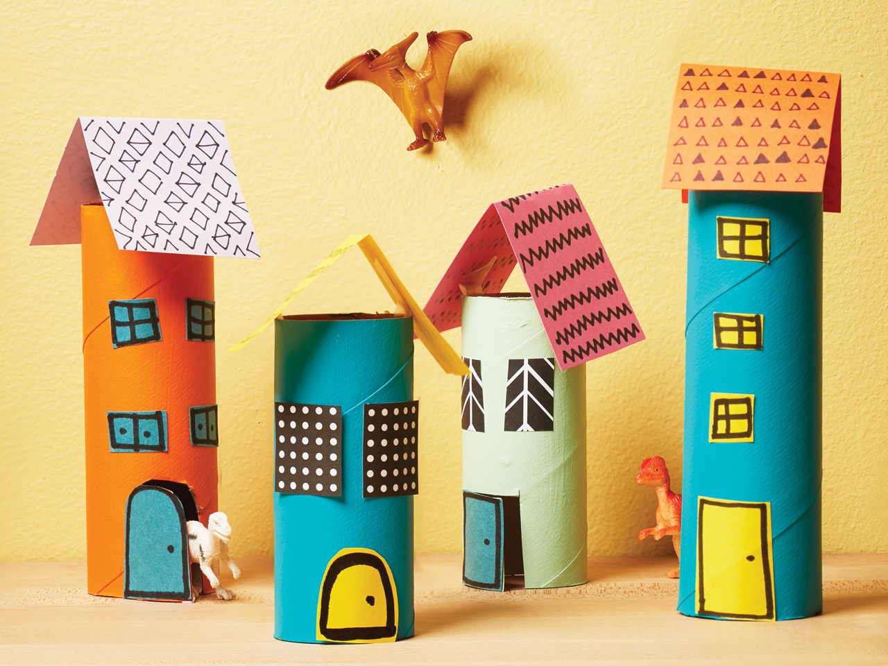 13 kid friendly crafts using recyclables today 39 s parent for Craft model with waste material