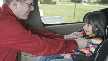 Are you using your car seat properly? 1 in 5 kids killed in car accidents don't have proper restraints