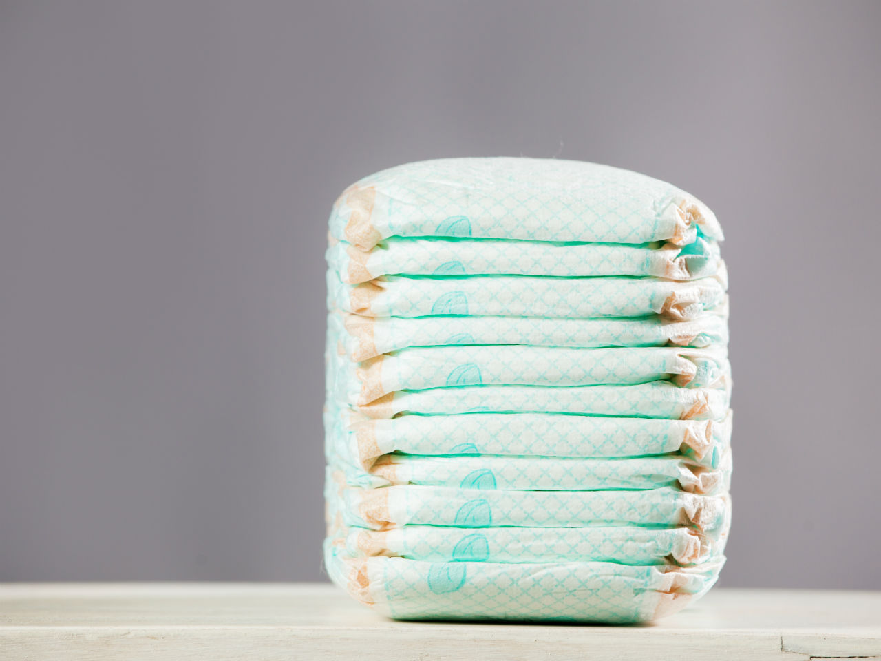 Disposable diaper delivery subscription