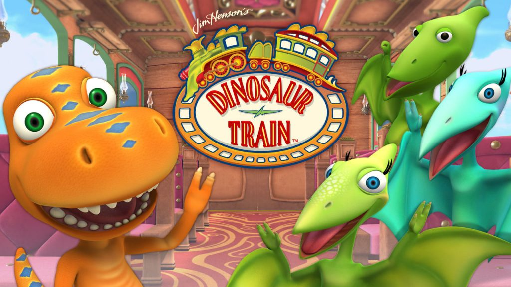 Kids TV show episodes about potty training - Dinosaur Train