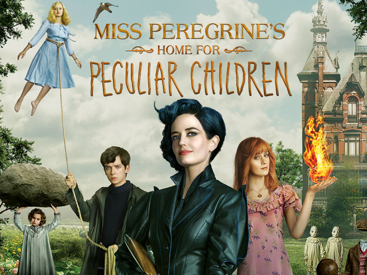 sale retailer 05511 4951a Miss Peregrine s Home for Peculiar Children