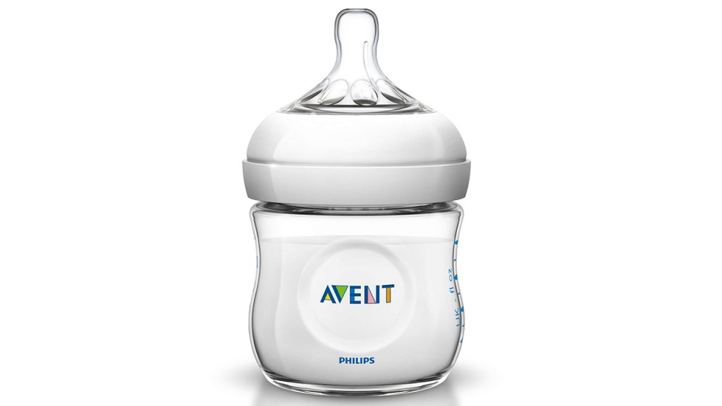 Philips Avent Natural Plastic Baby Bottle