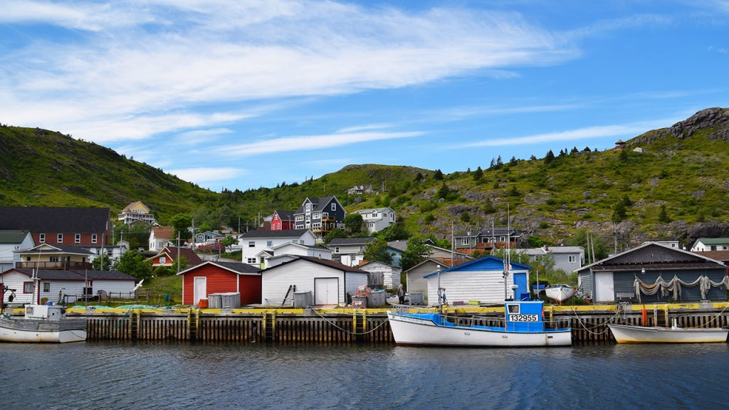 Petty Harbour in St. John's, NL